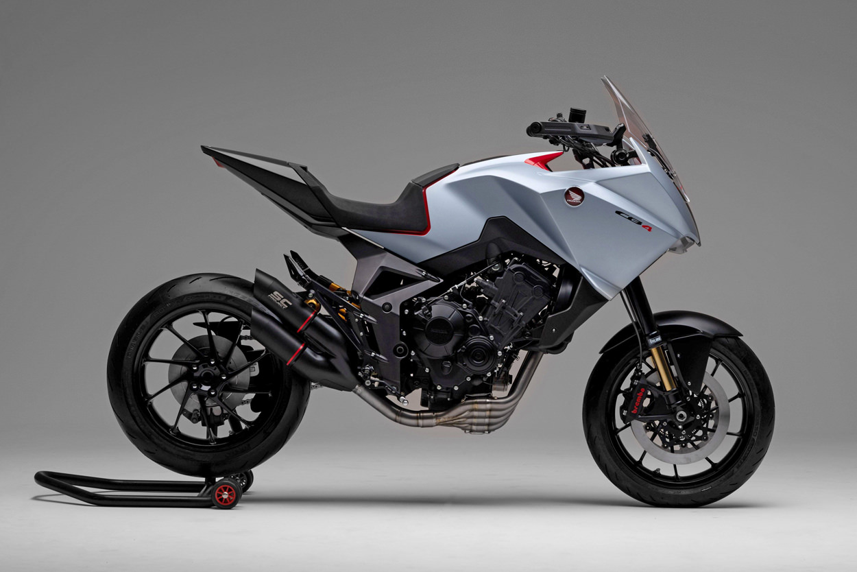 Bicicletas EICMA 2019: el concepto Honda CB4X