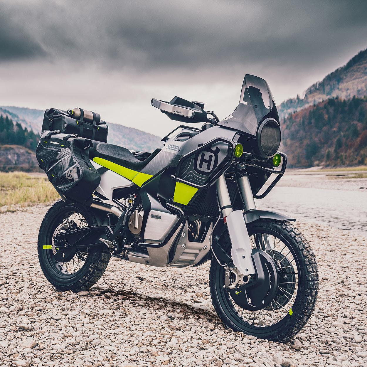 Bicicletas EICMA 2019: el concepto Husqvarna Norden 901