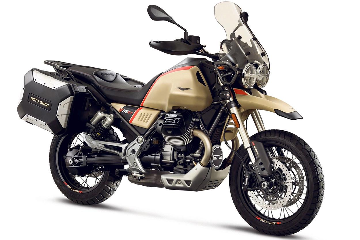 Bicicletas EICMA 2019: Moto Guzzi V85 TT Travel