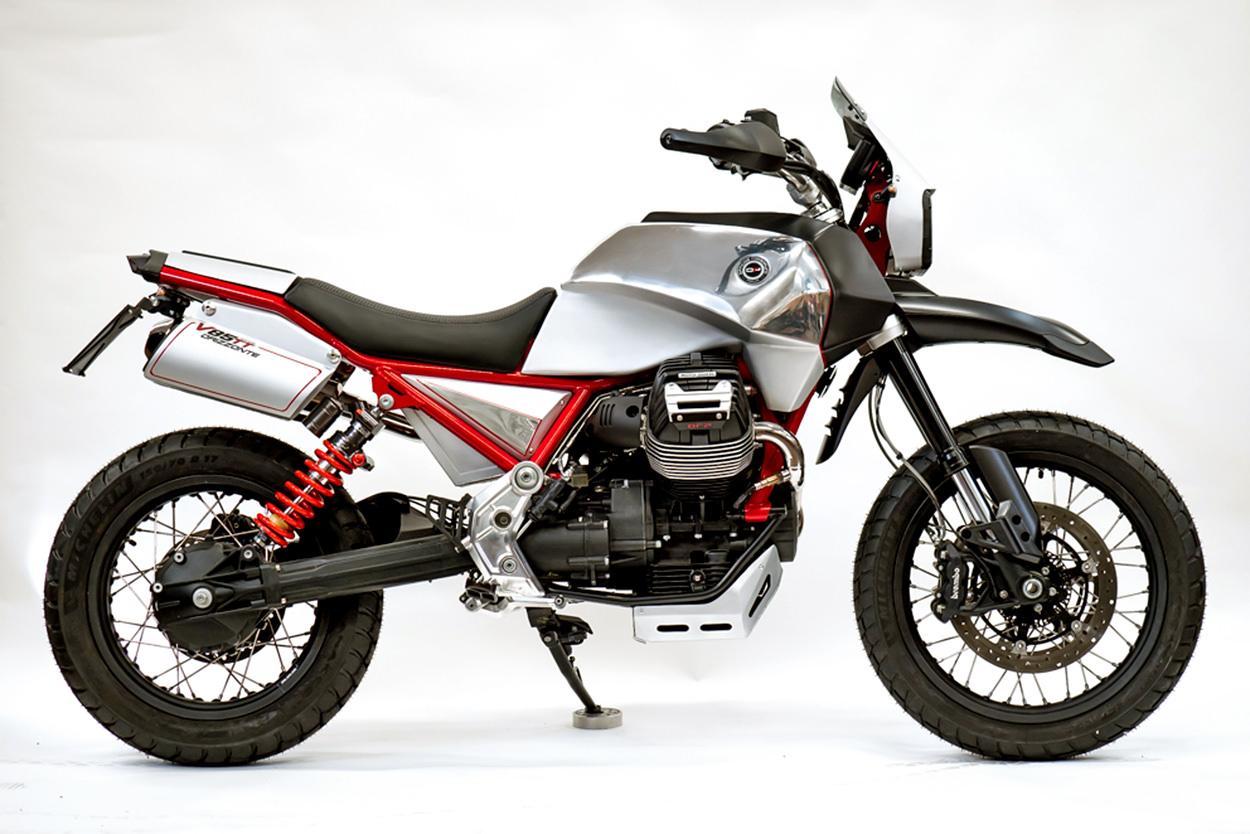 Bicicletas EICMA 2019: Moto Guzzi V85 personalizada por Officine Rossopuro