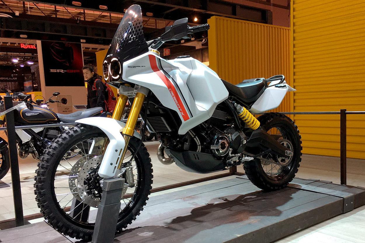 Bicicletas EICMA 2019: el concepto Scrambler Ducati Desert X