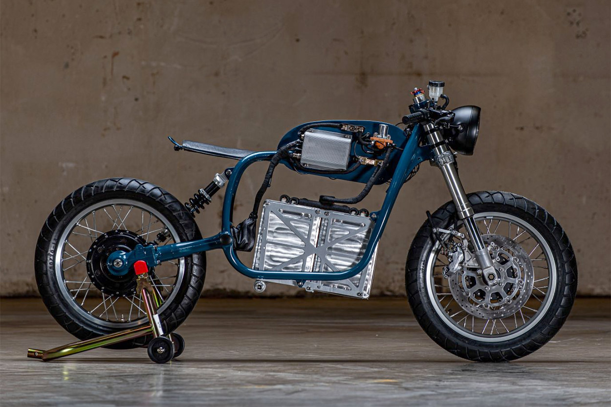 Electric BMW R75/5 by Night Shift Bikes