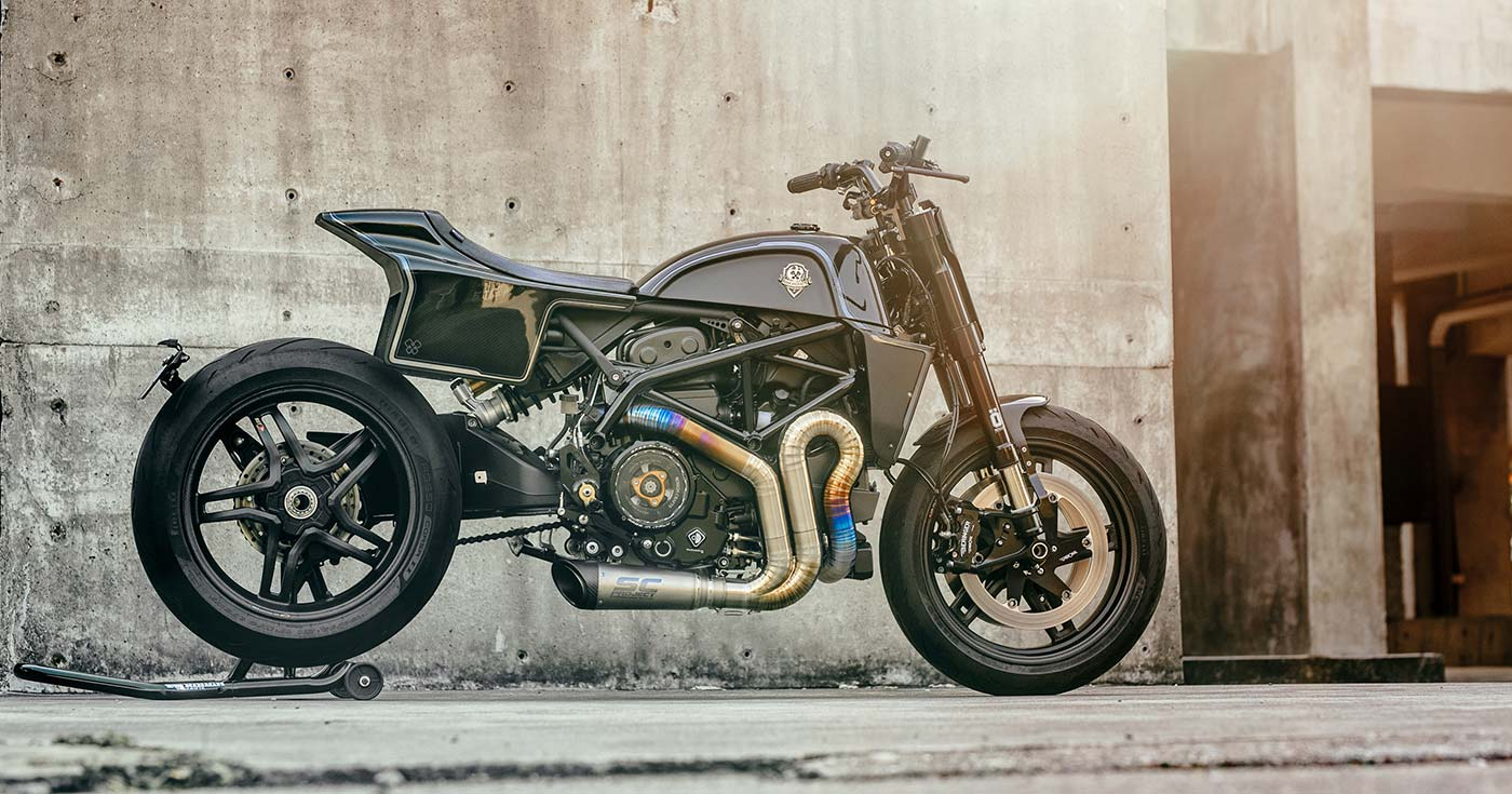 Inch perfect: A Ducati Hypermotard 939 from Rough Crafts
