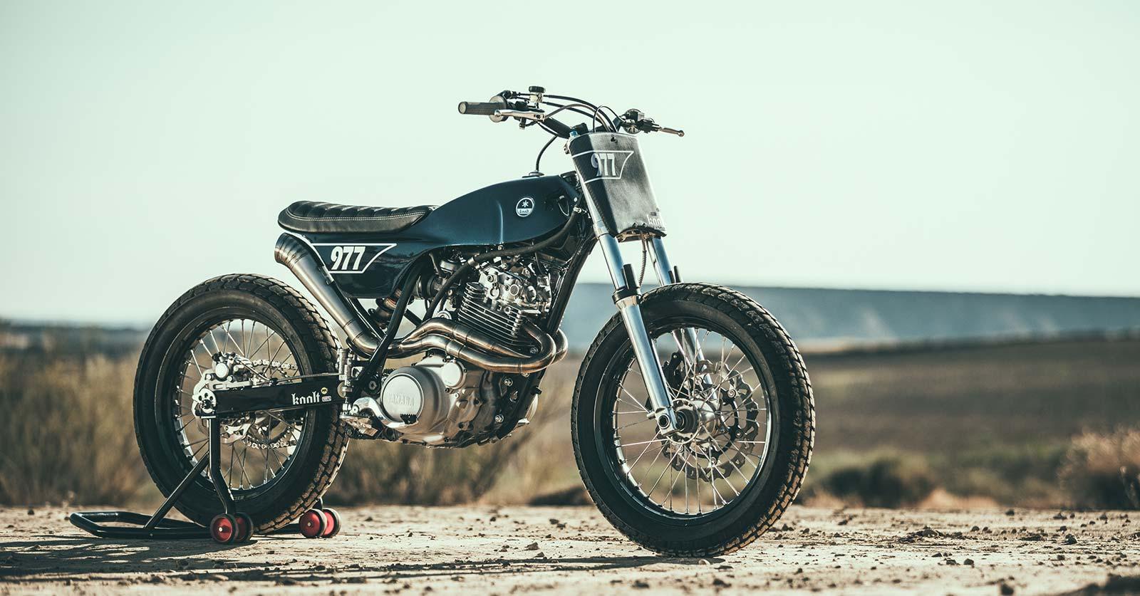 El Trasplante: A Yamaha XT 600 with Bultaco bodywork