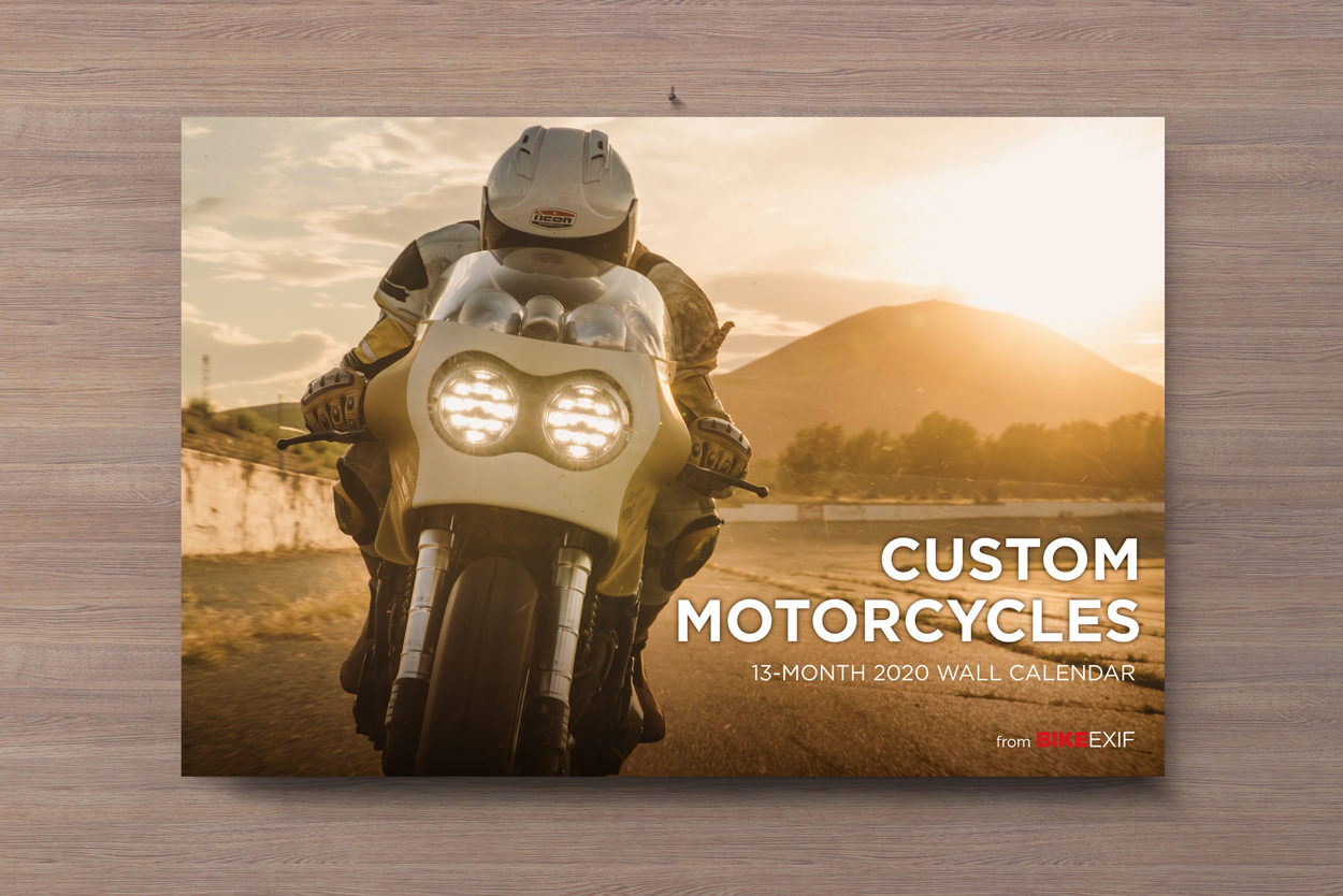 The 2020 edition of the world's most popular motorcycle calendar is now on sale.