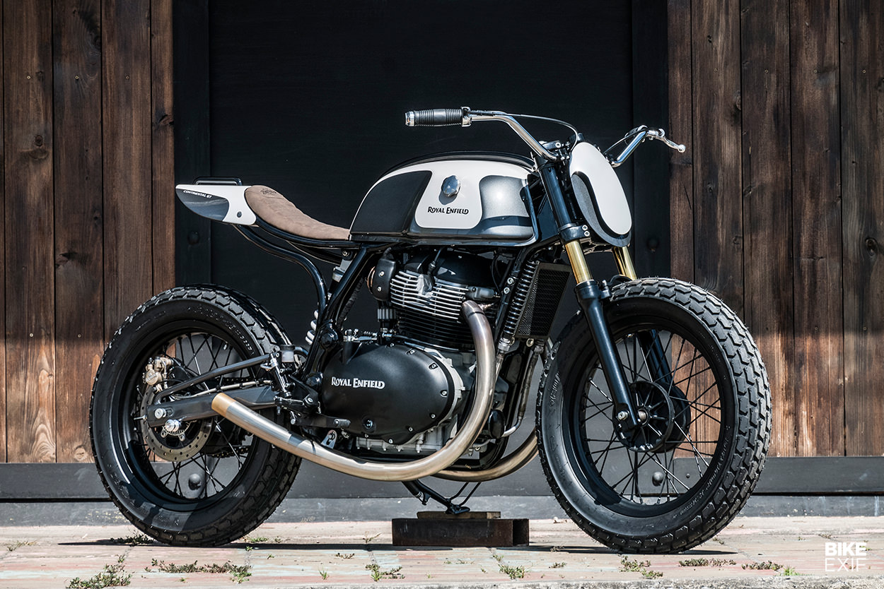 Moose Project: A Royal Enfield street tracker from Zeus