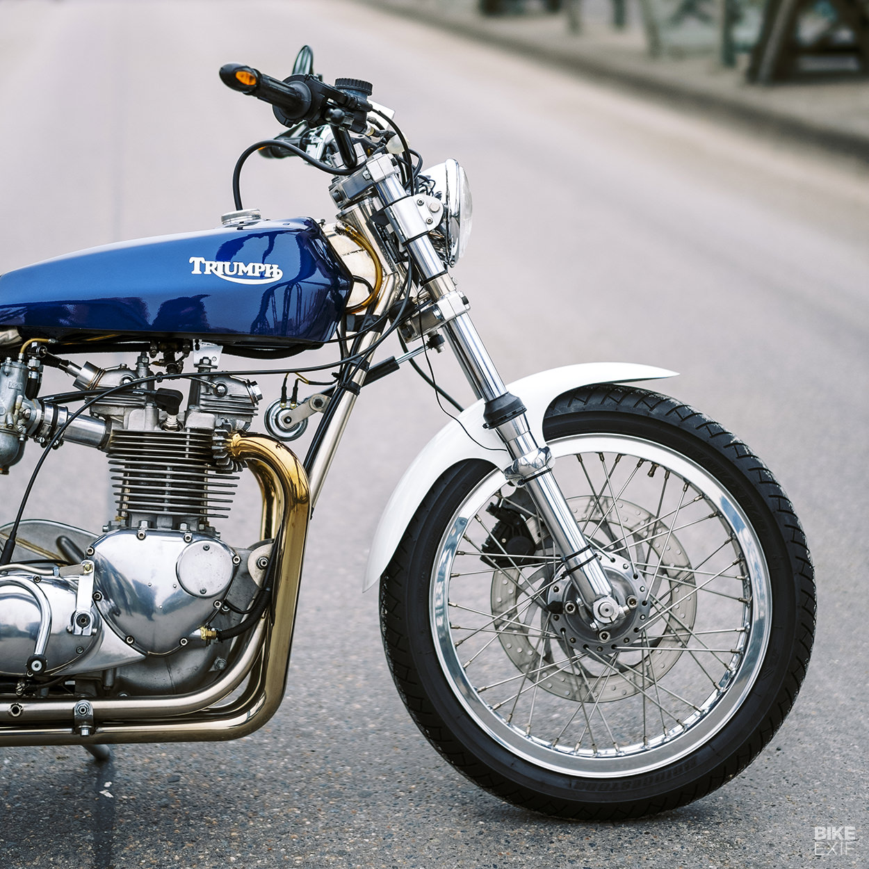 Triumph Trackmaster built from scratch by Heinz Lange of Germany