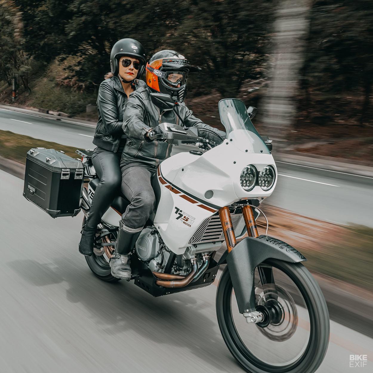 Yamaha XTZ 750 Super Ténéré restomod