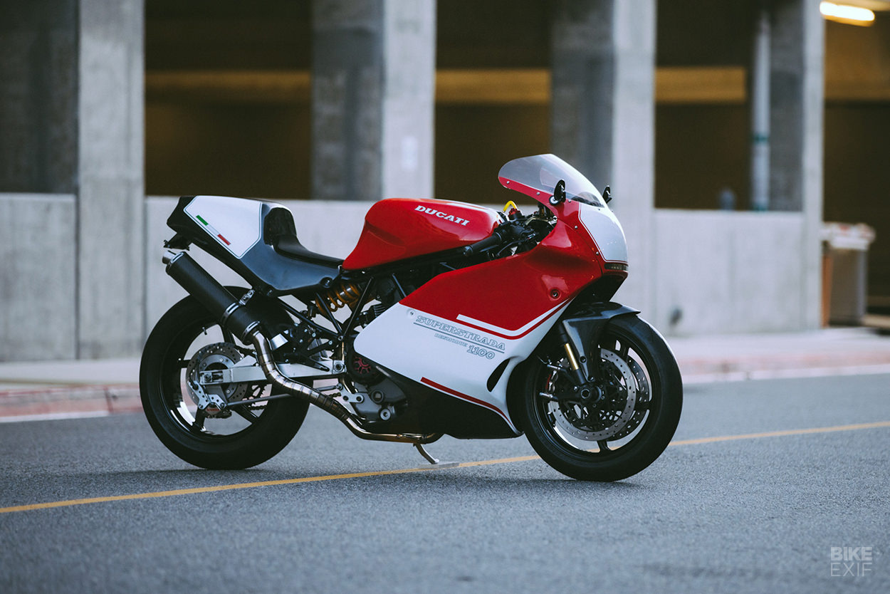 Ducati 900 SS with 1100 DS engine and carbon bodywork by Championship Cycles