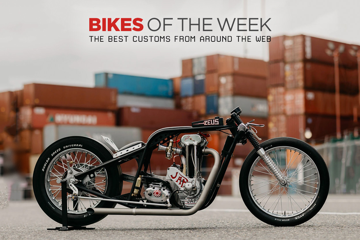 The best drag bikes, cafe racers and custom enduros from around the web