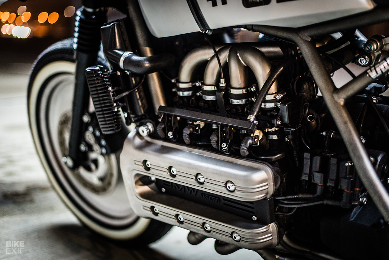 BMW K1100 custom from Vilnius Moto House