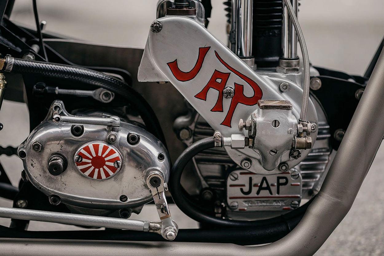 BSA/JAP drag bike by Kevin Busch