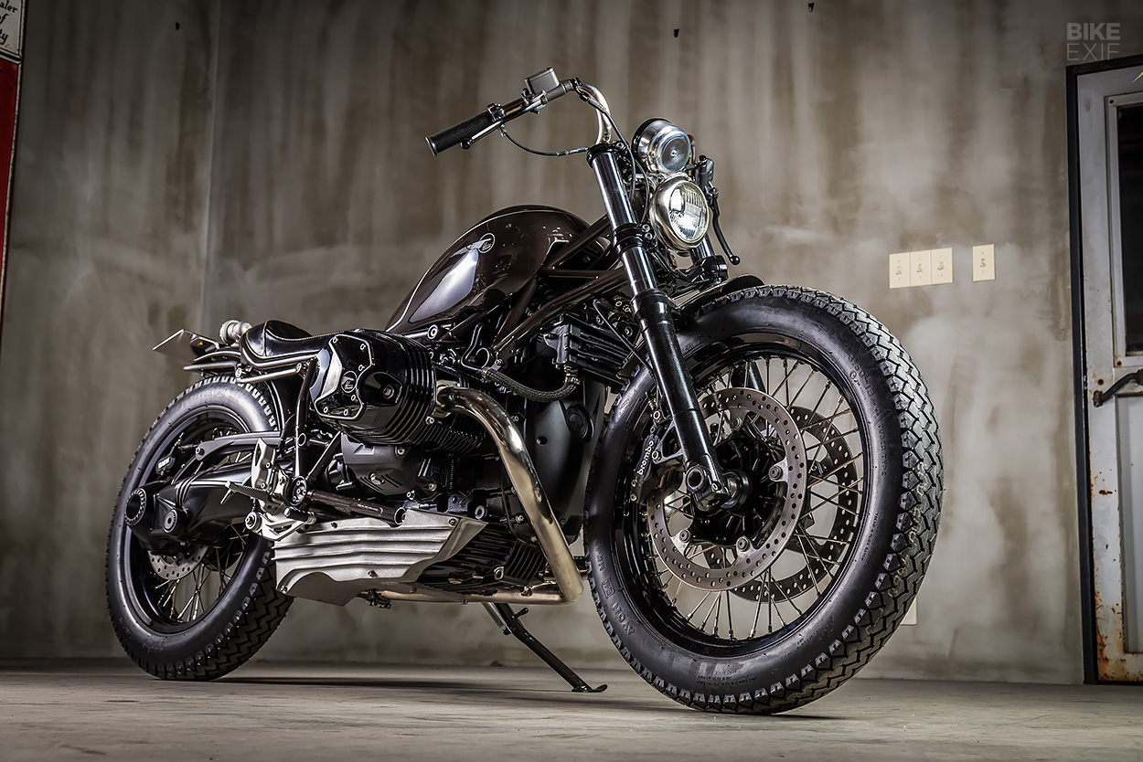 Bull Face: A custom 2017 R nineT Pure from Heiwa Motorcycle of Japan