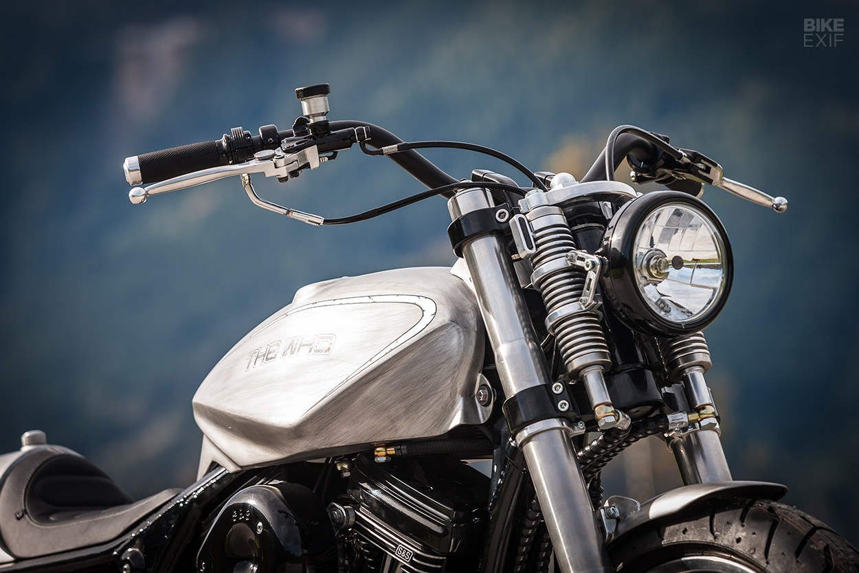 Custom Harley-Davidson FLHTC Electra Glide by Mayerl Motorcycles