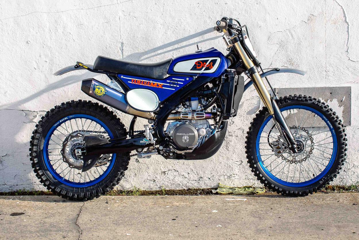 Custom Yamaha YZF450FX by Deus