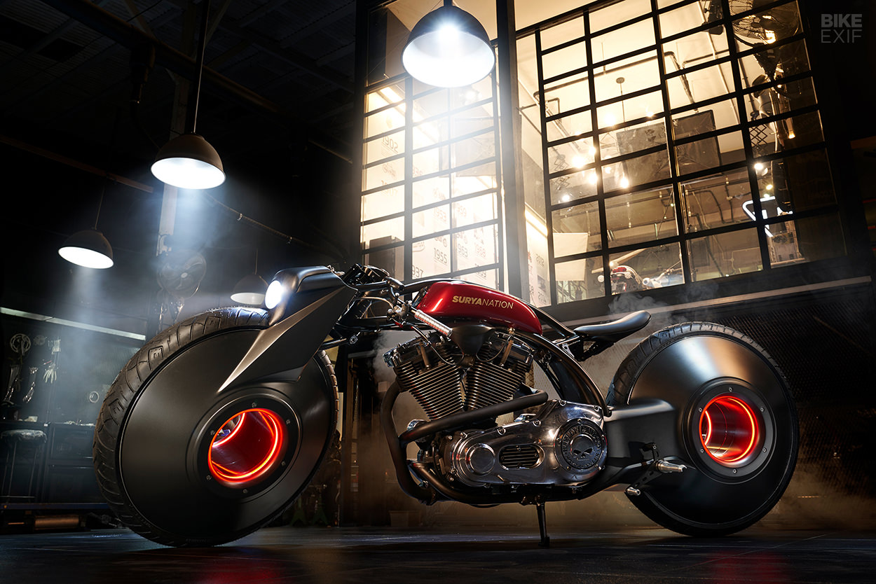 Custom Harley-Davidson Softail by Smoked Garage