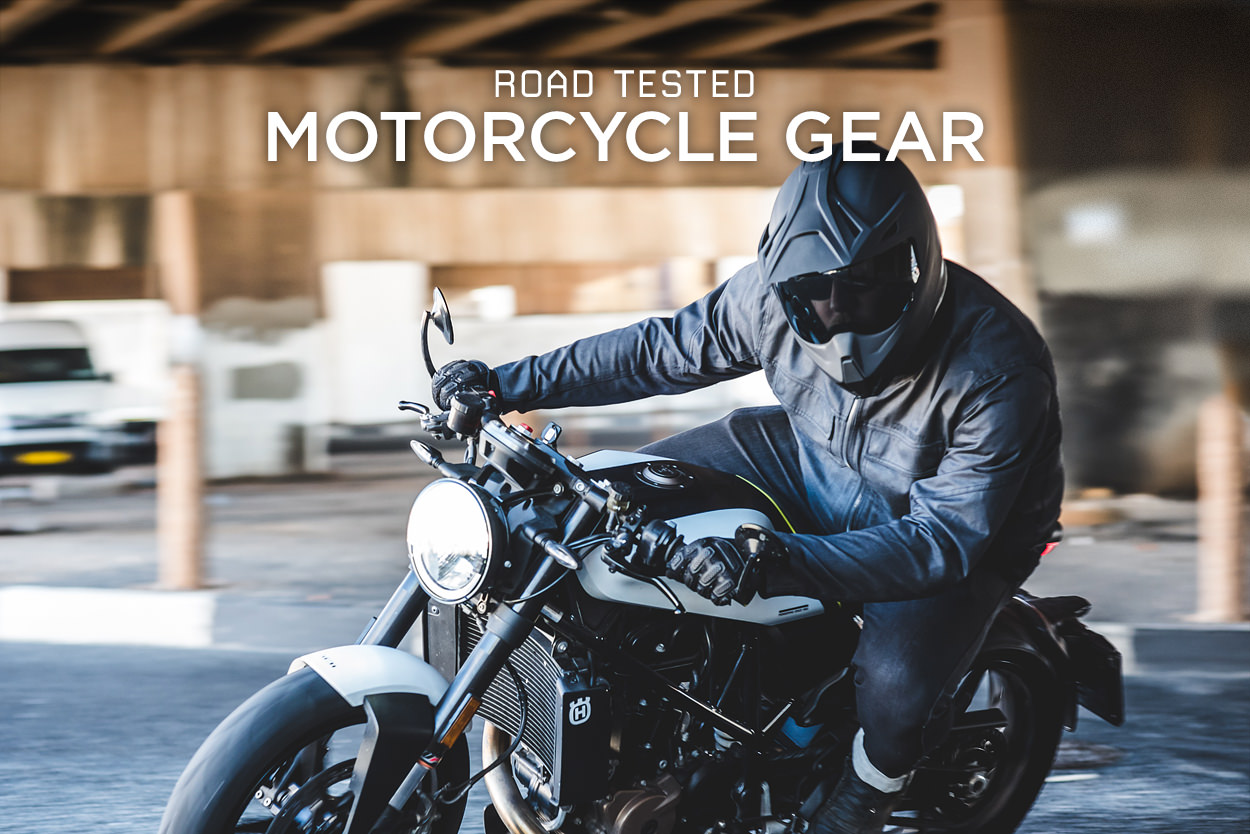 Road Tested: Gear from Icon 1000, REV'IT! and Saint
