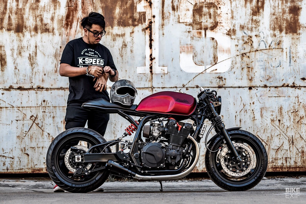 Yamaha XJR 1300 cafe racer by K-Speed