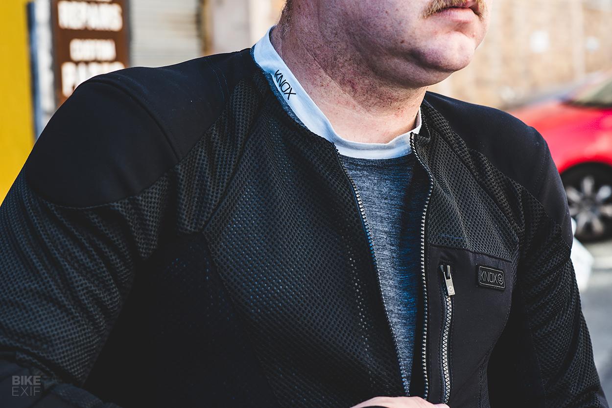 Knox Urbane Pro armored shirt and Jacob base layer