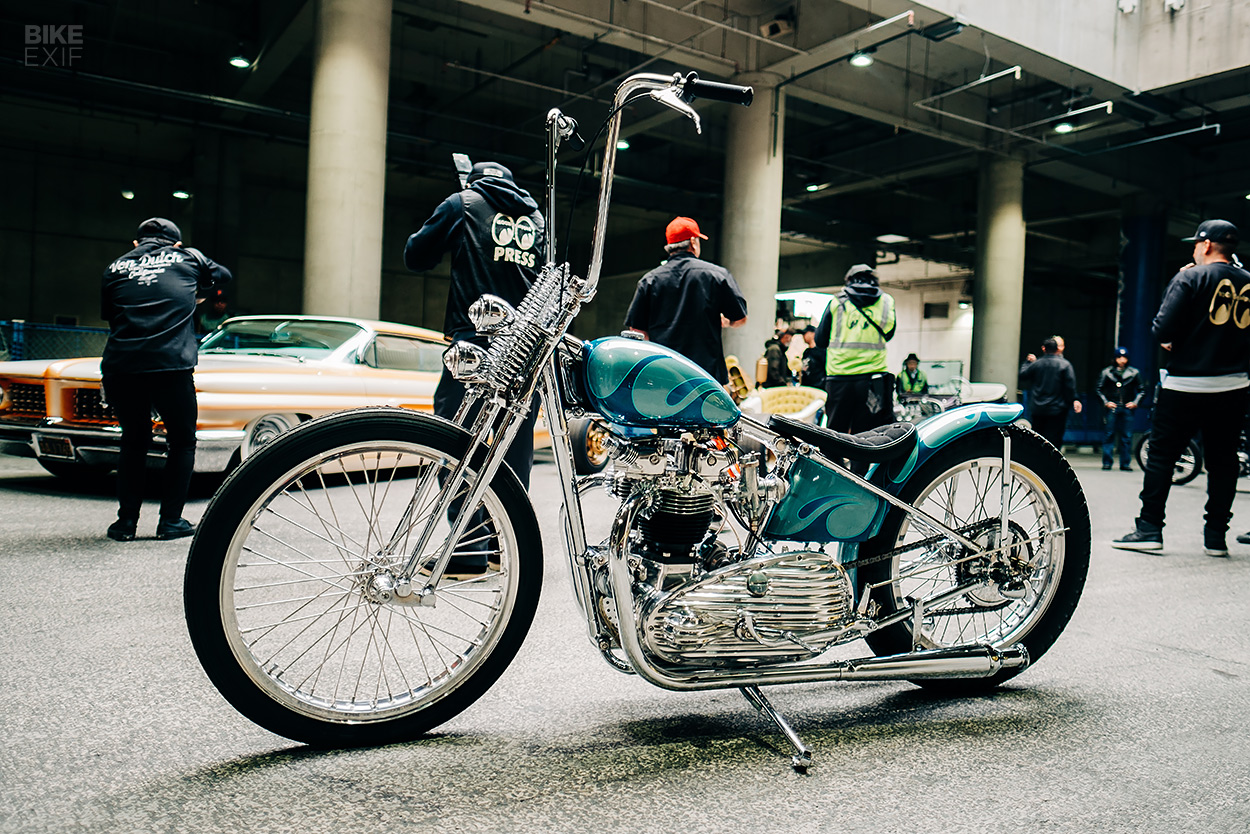 A Photographer S Perspective On The Mooneyes Show Bike Exif