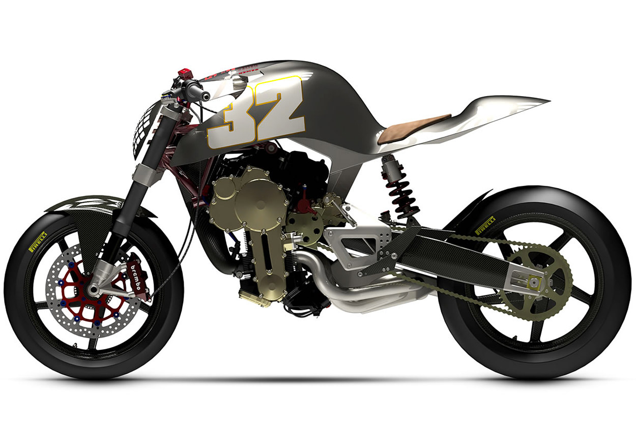 Nembo 32 Type 3: The motorcycle with an upside down engine
