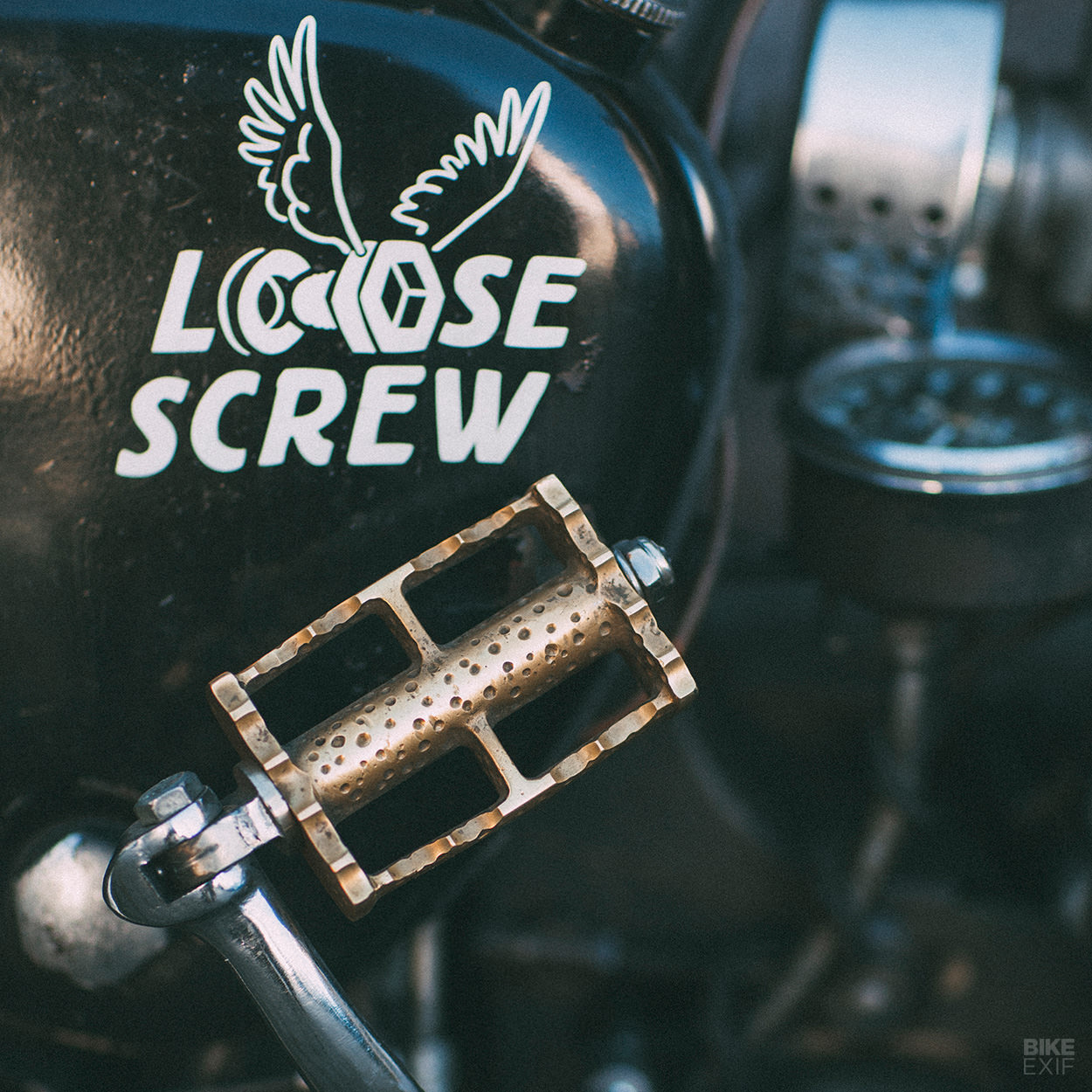 Custom BSA A10 rat bike from the Loose Screw workshop