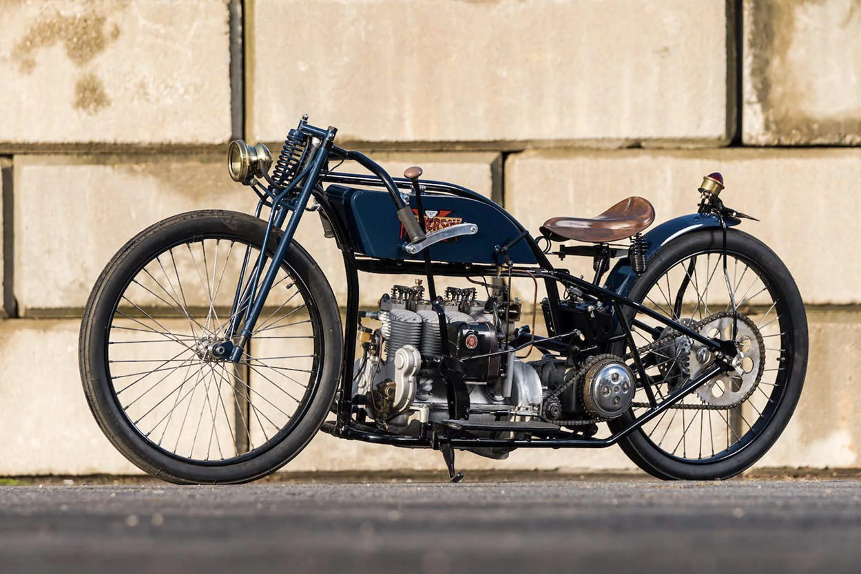 1917 Henderson Model G Board Tracker