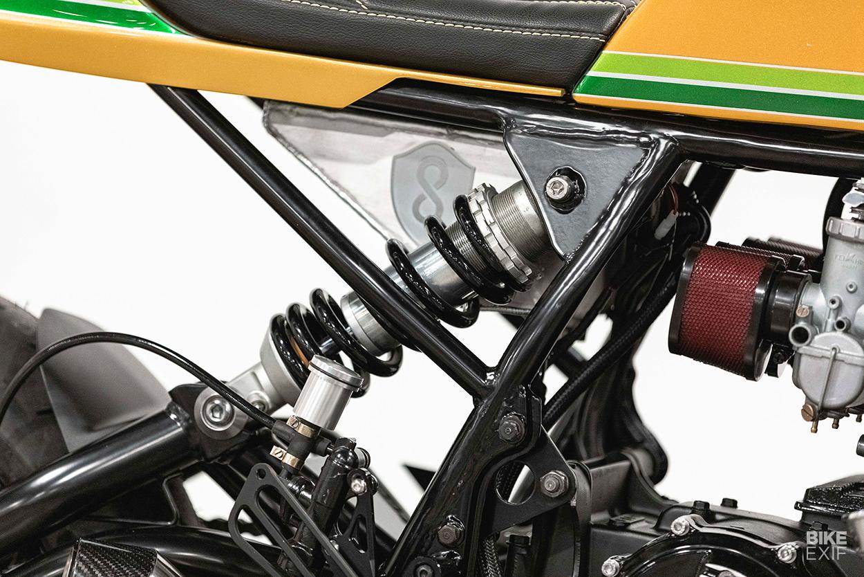 1974 Honda CB750 cafe racer by Origin8or