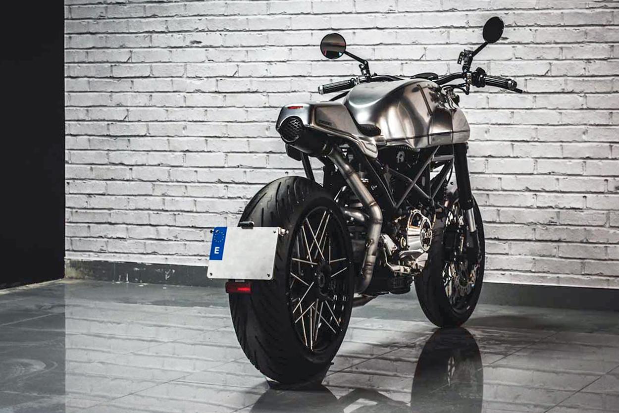 Custom Ducati Monster by Bolt Motor Co