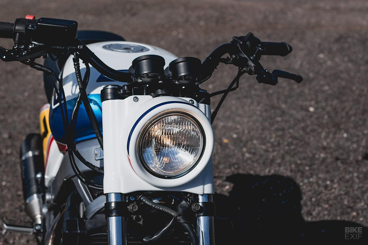 Honda NTV 650 customized by Kaspeed
