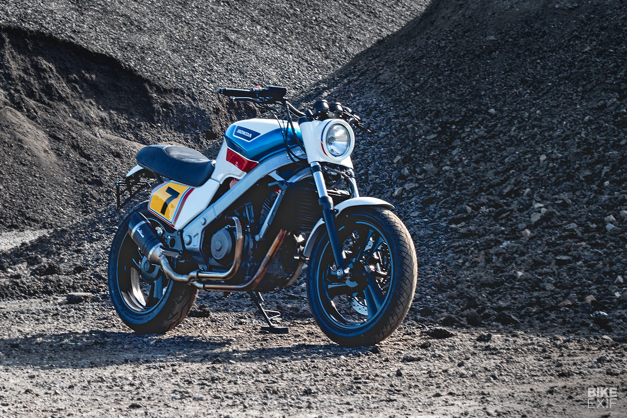 Honda NTV 650 customized by Kaspeed
