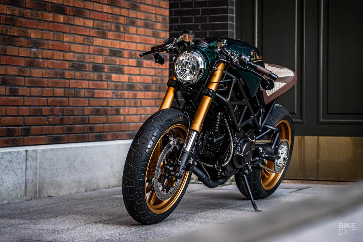 Ducati Monster S2R cafe racer by KickassTuning