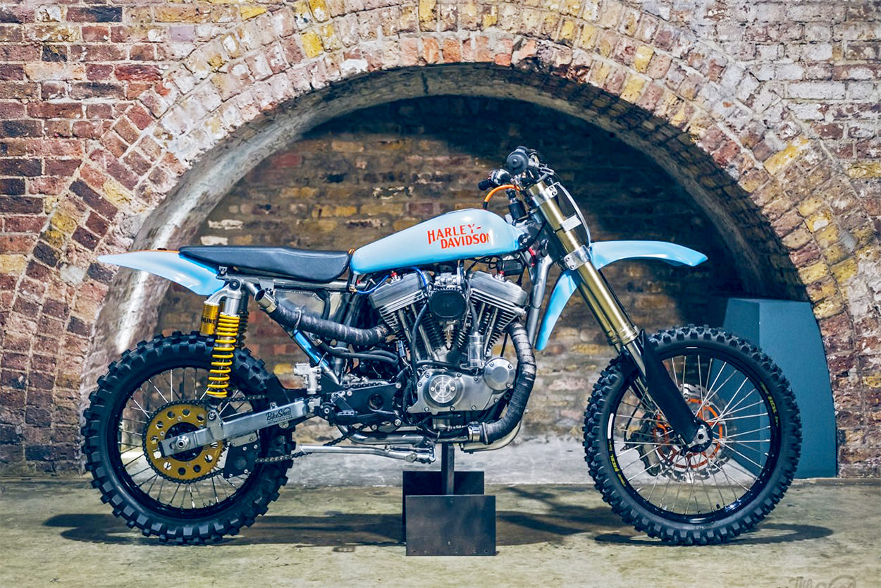Harley-Davidson Sportster motocross bike