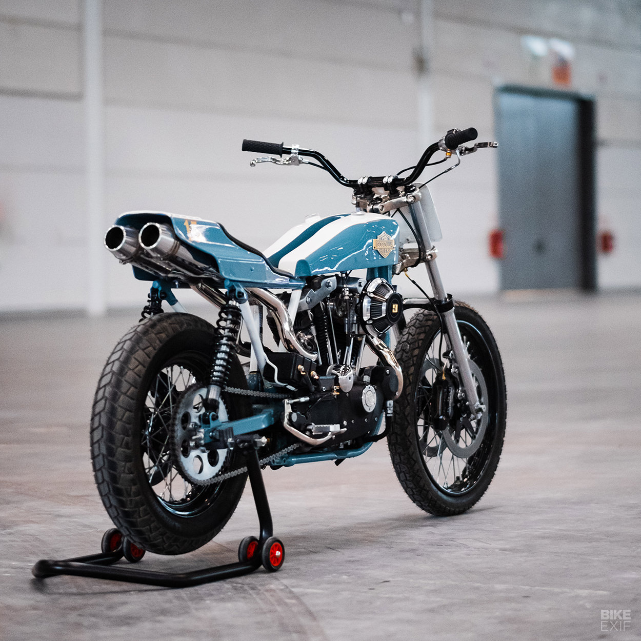 1979 Harley XLCR tracker by Danny Schneider of HardNine Choppers