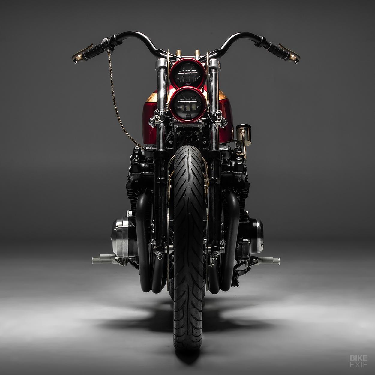Honda CB900 chopper by Purpose Built Moto