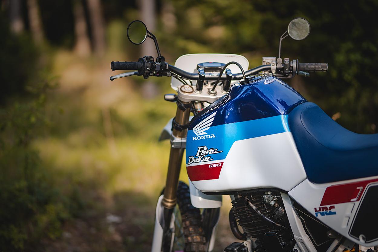 Honda Dominator by Mauro Gessi