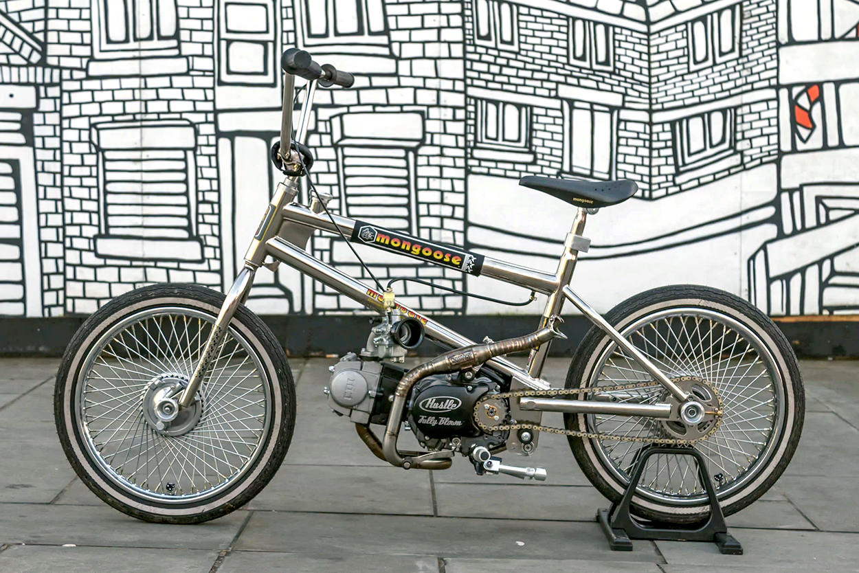 Motorized BMX by Sub Kulture Cycles