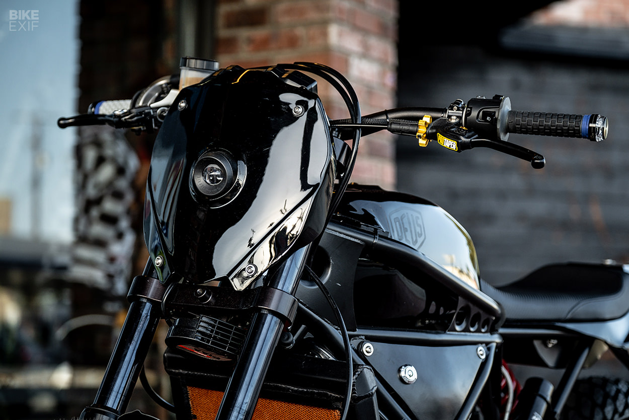 A street tracker with race-tuned Yamaha MT-07 power from Deus