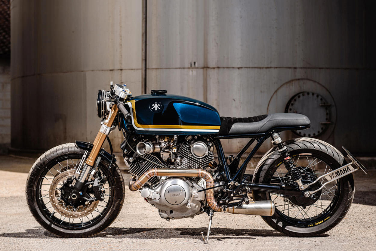 Custom Yamaha Virago XV1100 by VooDoo Garage