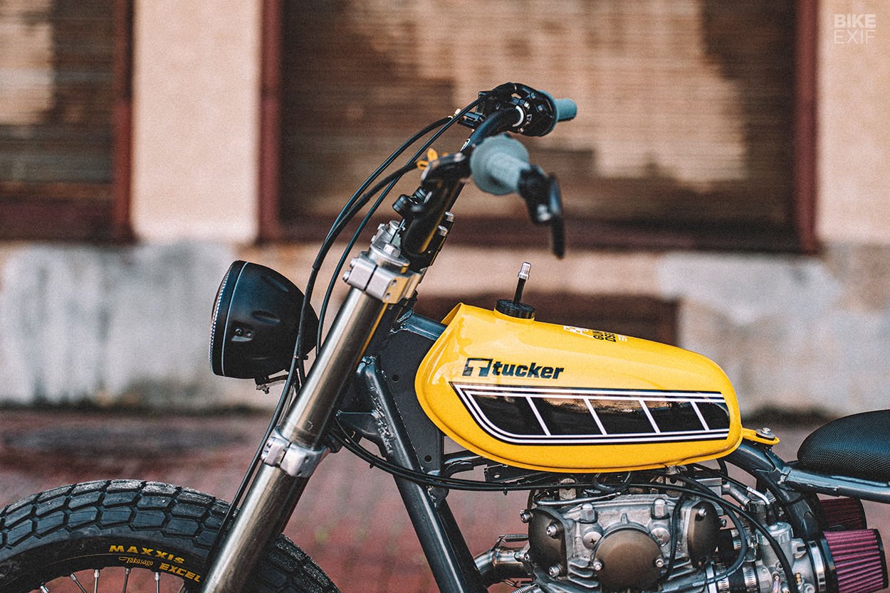 Yamaha XS650 street tracker for Tucker Powersports