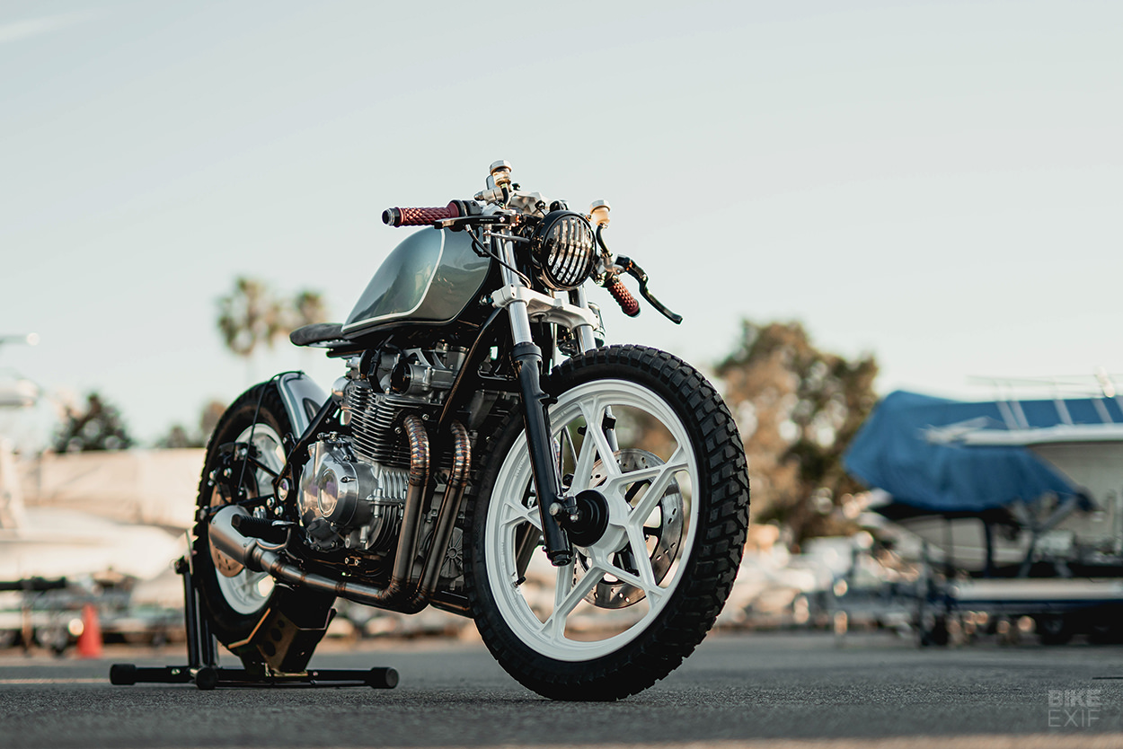 Beach Cruiser: A Suzuki GS650 customized by Upcycle Motor Garage of California