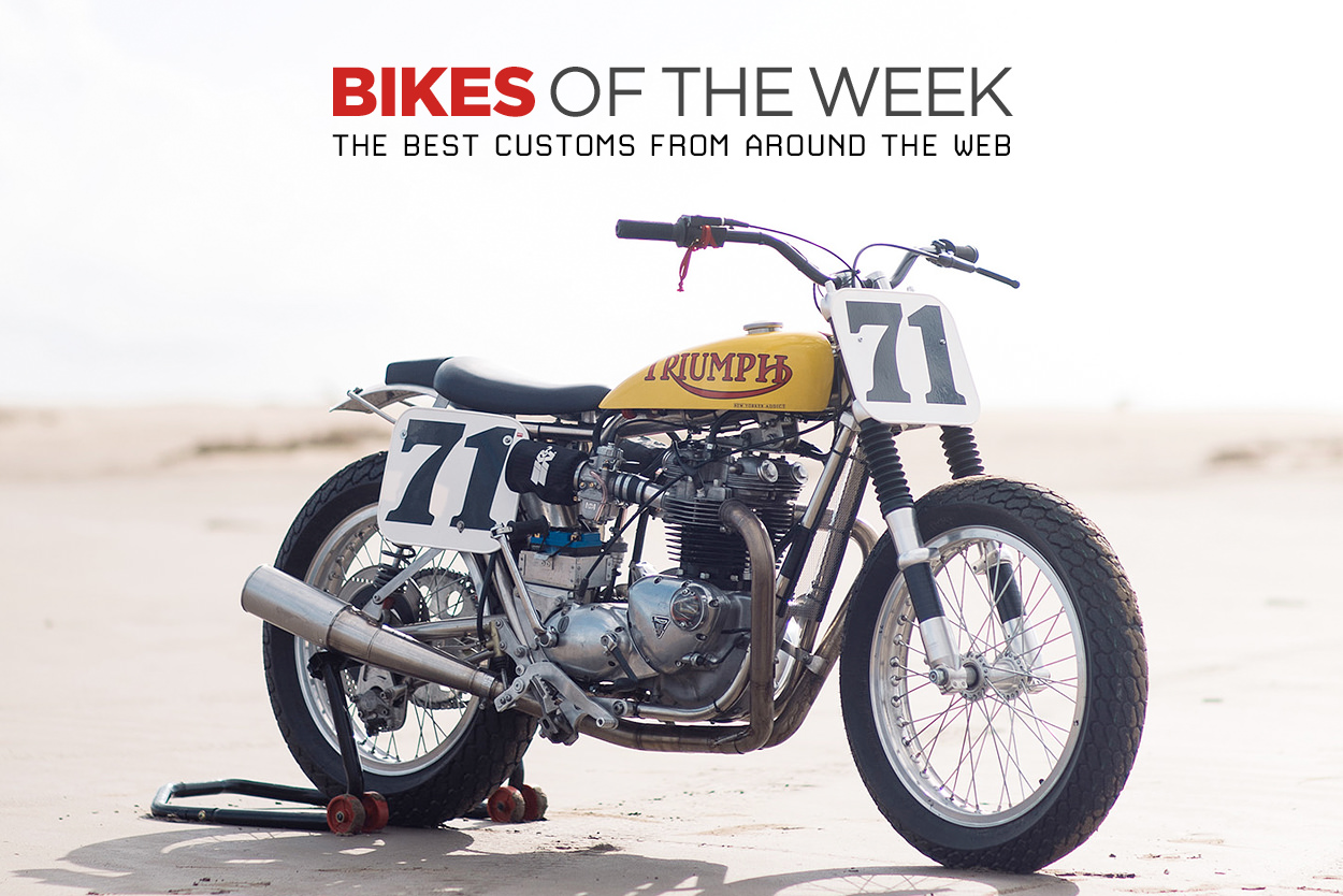 The best cafe racers, retro and modified motorcycles from around the web