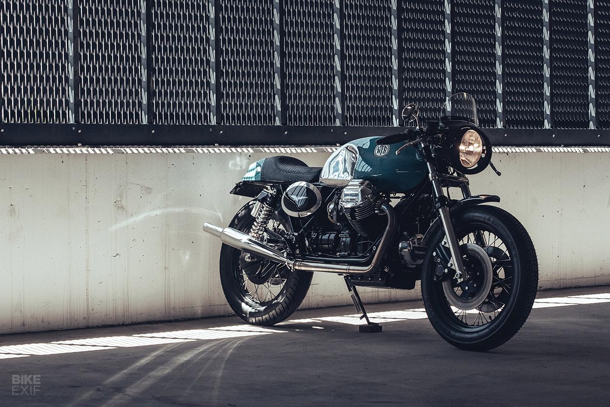 Custom Moto Guzzi 850 T3 by Deus