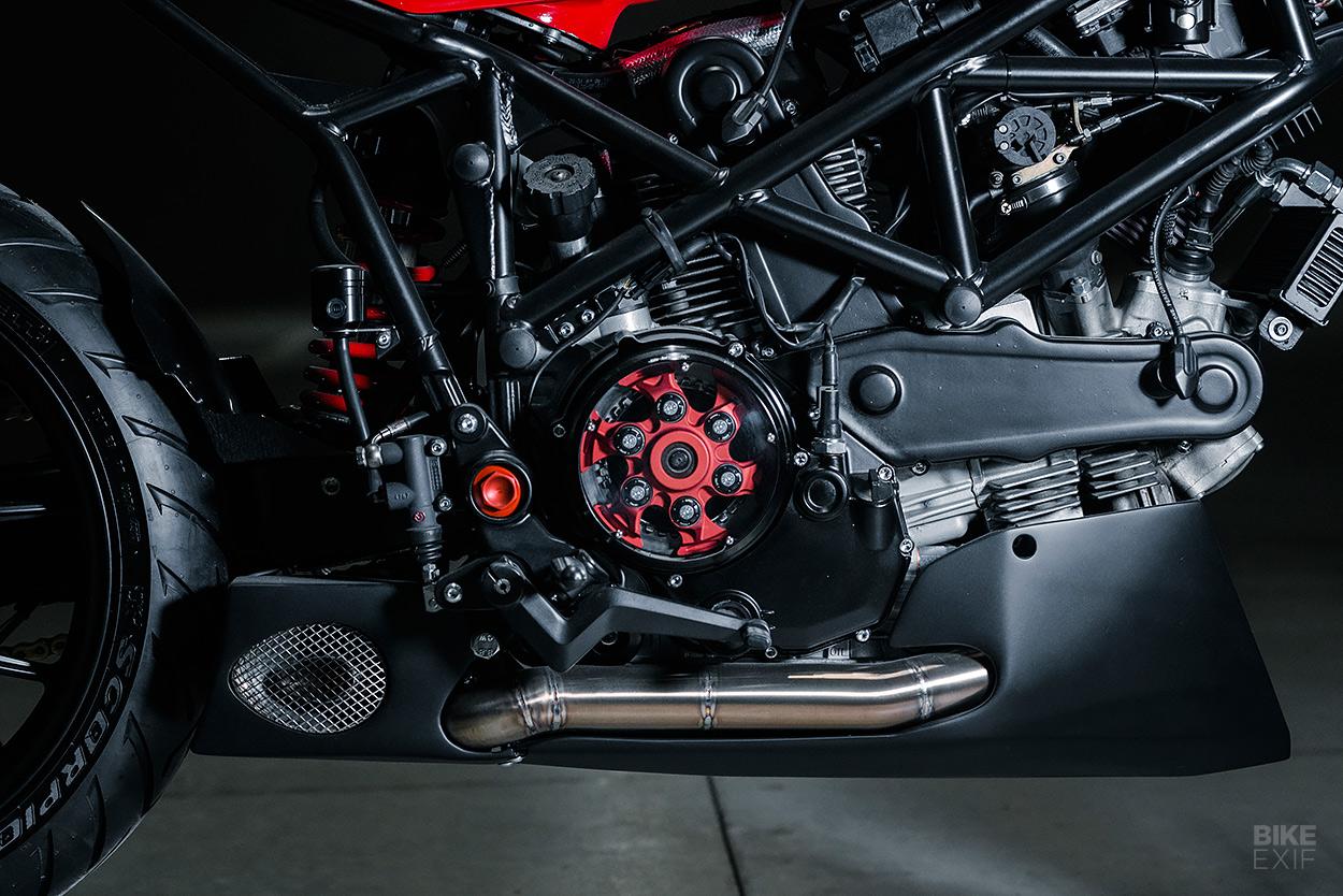 Ducati Multistrada cafe racer by NorthEast Custom
