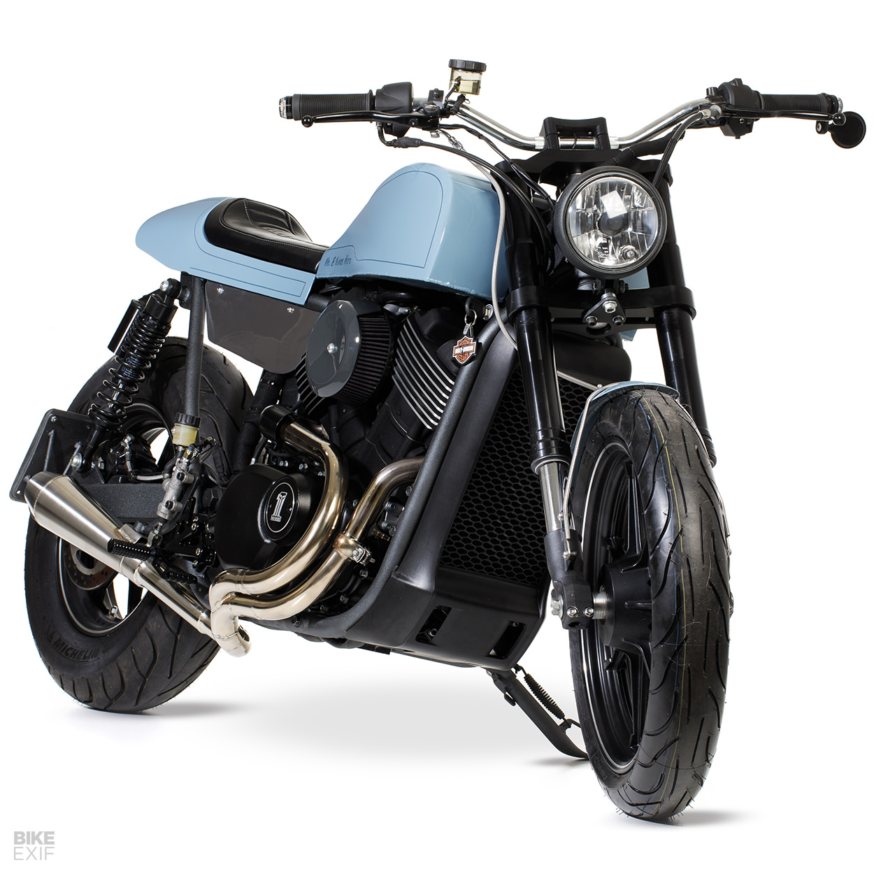 HD Street 750 custom by No. 8 Wire Motorcycles