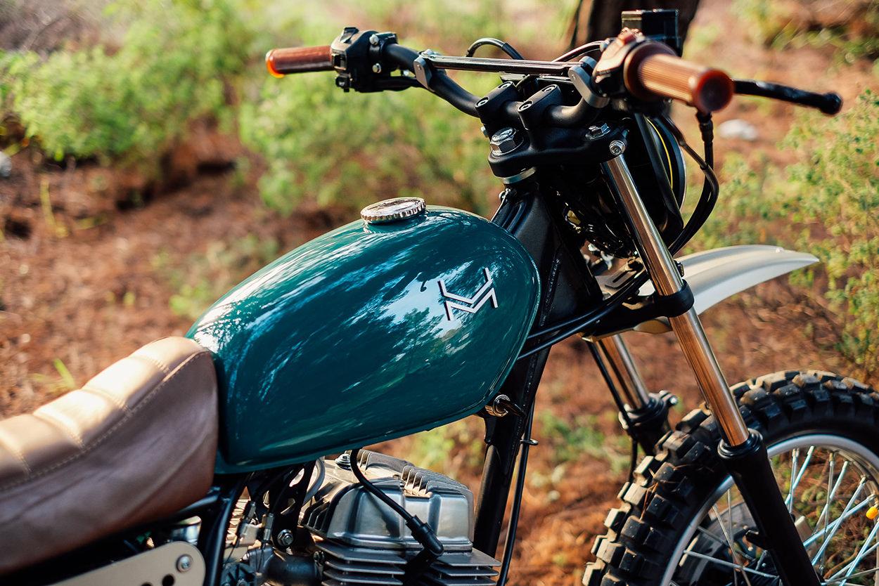 Honda CB250 Nighthawk scrambler by Urban Mechanics