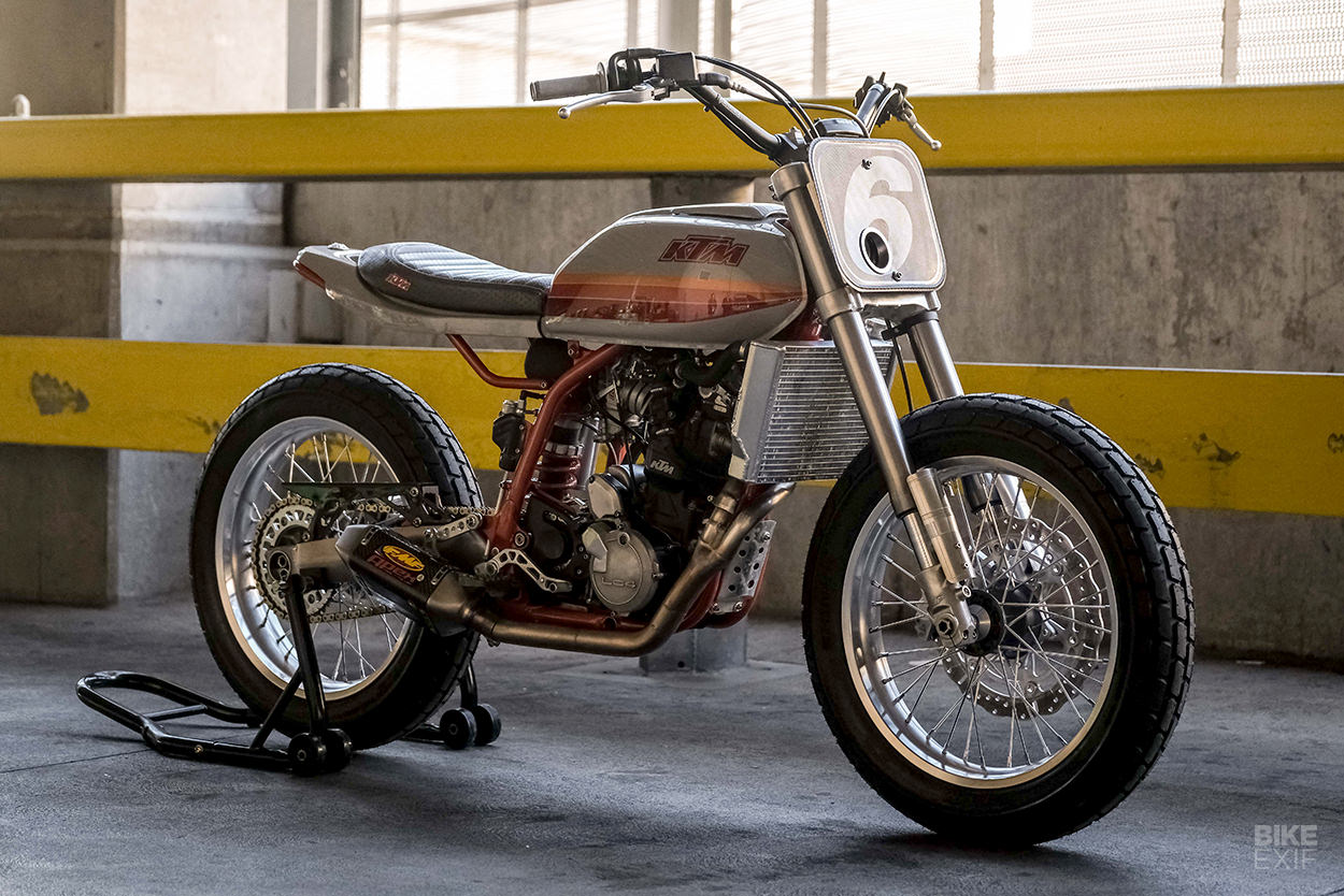 Daily Driver: A KTM Duke II street tracker motorcycle by Dubstyle Designs