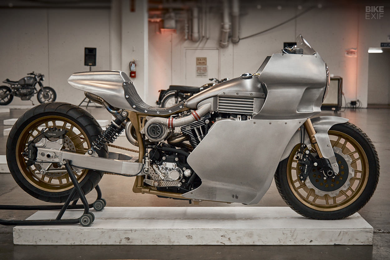 Landspeed Dyna by Royal-T Racing at the 2020 One Motorcycle Show
