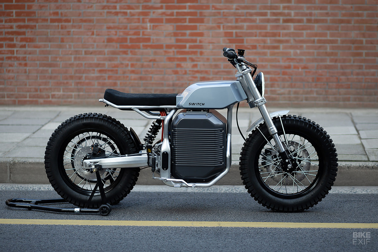 Switch eSCRAMBLER: the best-looking street legal electric motorcycle yet?