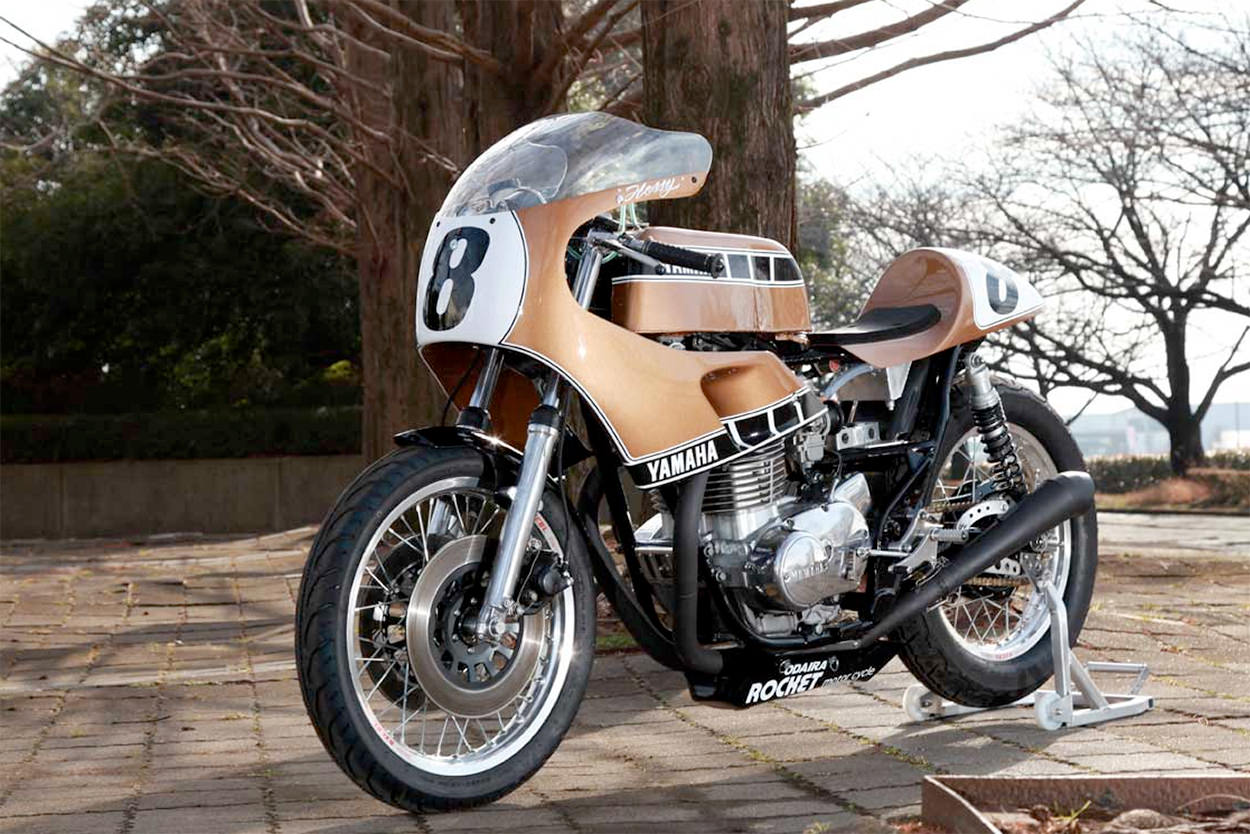 Kenny Roberts-inspired custom Yamaha XS650